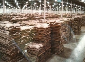 A Starbucks Coffee Warehouse