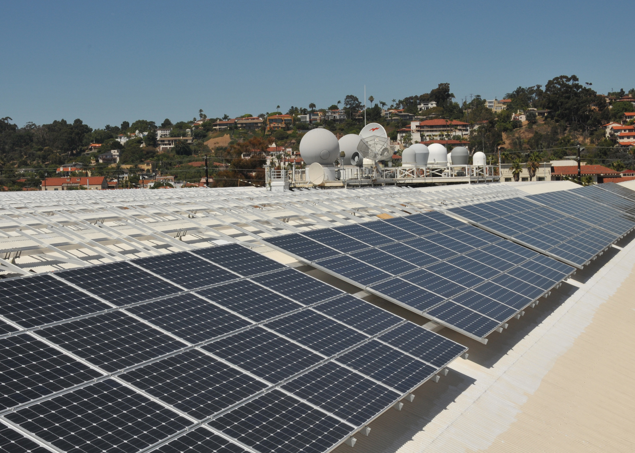 US Military Solar Installation at Systems Command HQ
