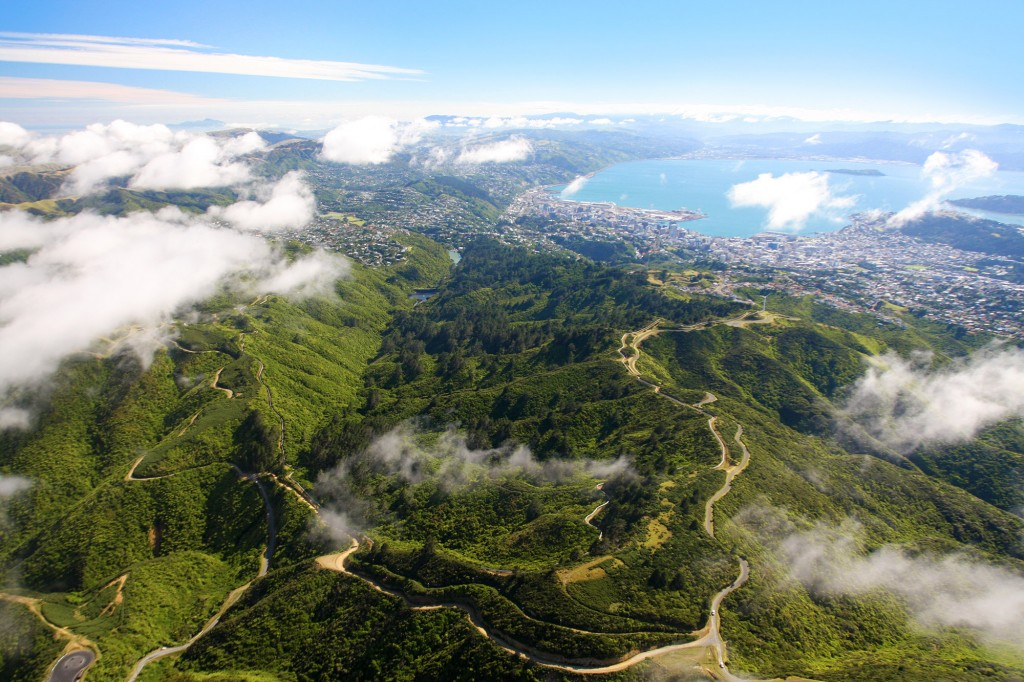ZEALANDIA from the air. Credit: Rob Suisted