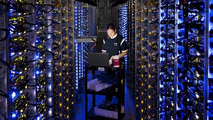 A Google Data Centre