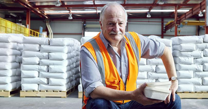Potato Packaging Pioneer Takes on Throwaway Culture