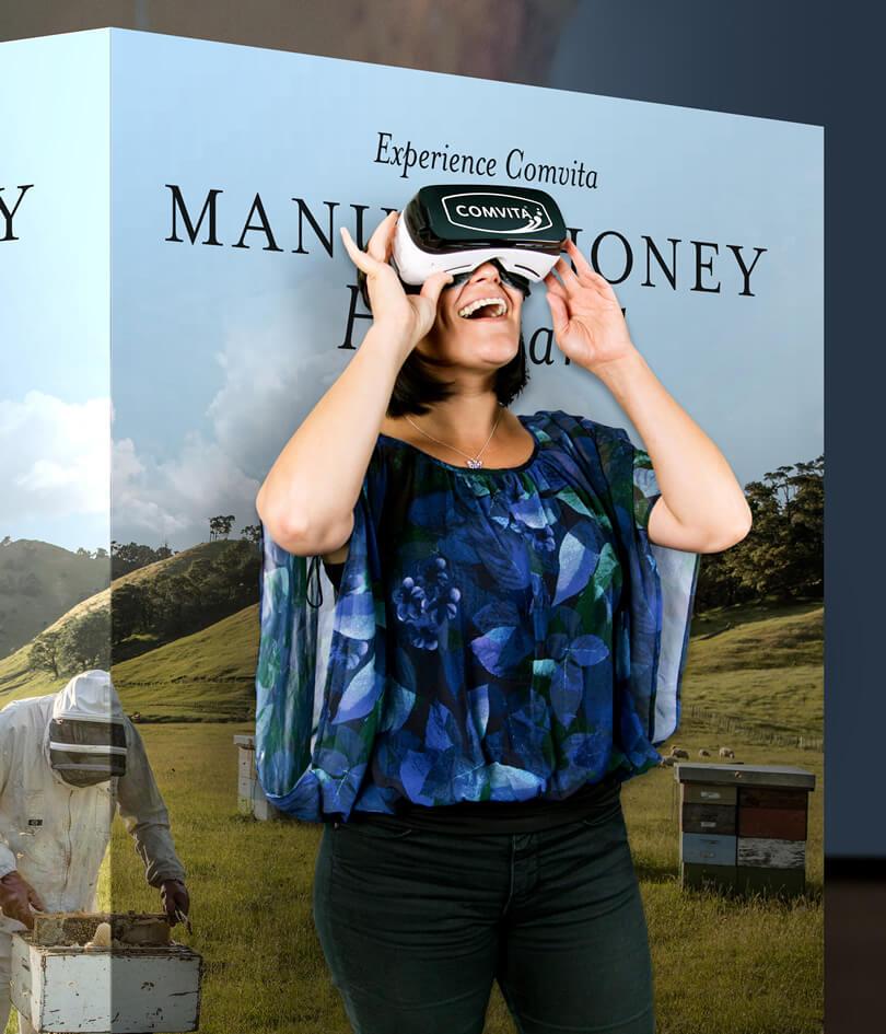 Comvita's virtual reality Source Story