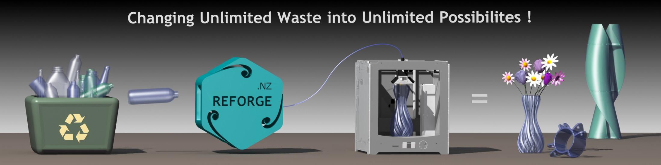 Recycling through 3D Printing