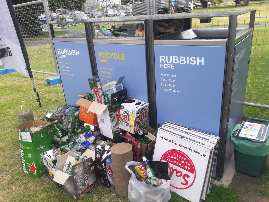 Recycling in New Zealand: not so green, not so clean