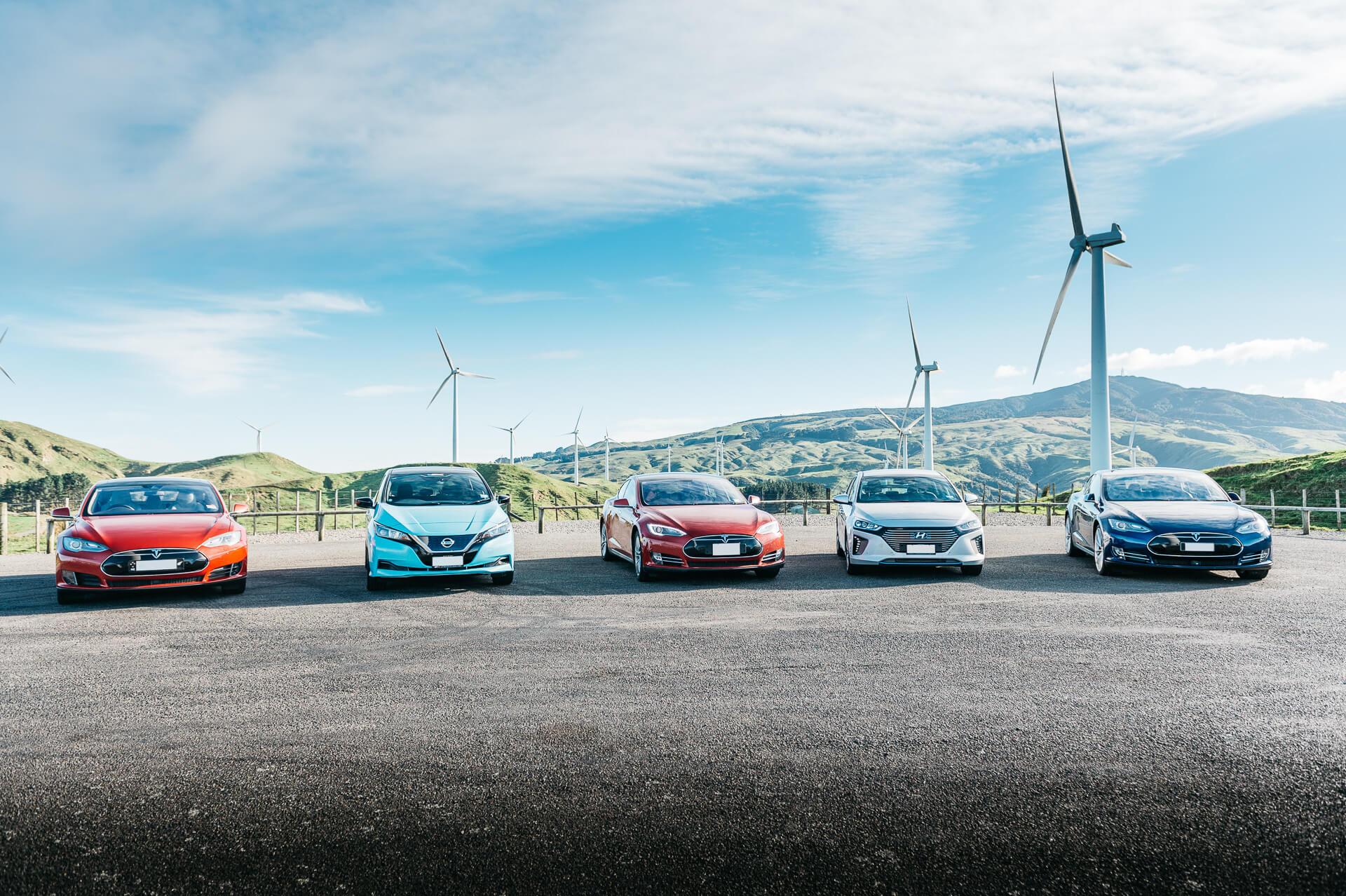 Building an electric fleet